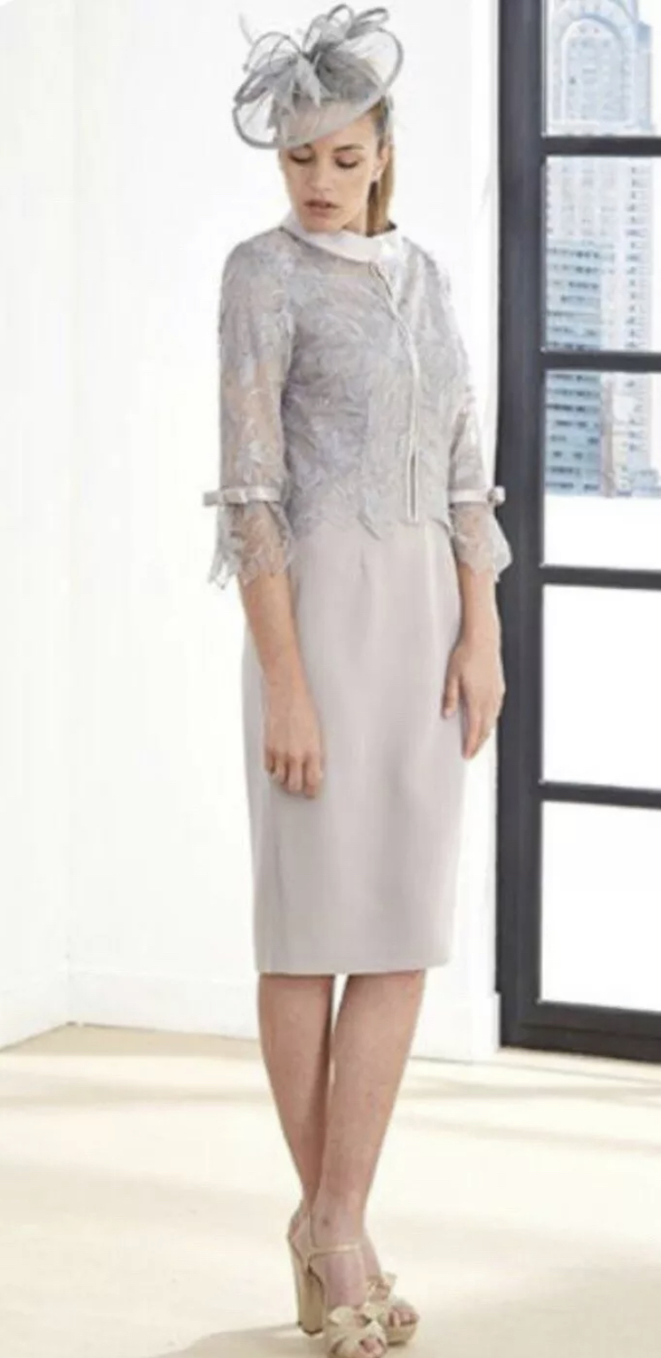 Couture Club Dress in silver